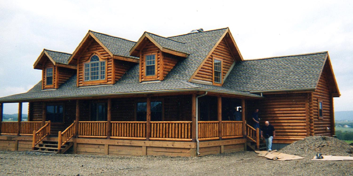 Log Home Header